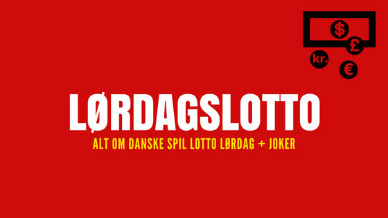 Lørdagslotto | Alt om Danske Spil Lotto Lørdag + Joker